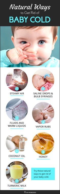 Natural Ways to Get Rid of Baby Cold The Mother Nature has given so many medicines to treat various health and beauty problems, including the remedies for cold and cough of your baby. Here in this article, we came to know some amazing natural remedies, which are used as a first aid to treat your baby cold at home and make them feel better. #DIYRemedies