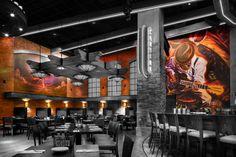 68 Best Mural Styles Restaurant And Bar Images Restaurant Design