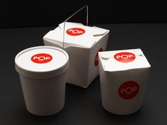 Pop Noodle Bar (Coventional Boxes spiced up with stickers)