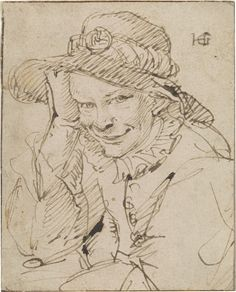 Hendrick Goltzius | Portrait of a Smiling Young Boy | ca. 1600 | The Morgan Library & Museum