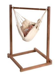 Non-Toxic, Eco-Friendly, and Organic Baby Swings: Magic Cabin Organic Baby Hammock
