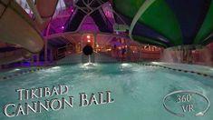 Tikibad 2019 Cannon Ball 360° VR POV Onride Vr, Cannon