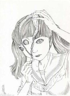 Black and White original drawing #6 by Shintaro Kago