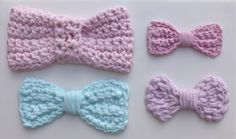 There are four different bows on our Crochet Bow Mould. They are perfect to use with our other crochet moulds. Would work well with our crochet flowers and leaves to tie a bouquet or with the crochet border to disguise the joins around the sides of a cake. Can also be decorated with our button moulds.  http://www.karendaviescakes.co.uk/Moulds/?p=198_Bow_Mould