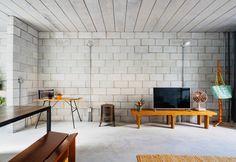 Casa Vila Matilde: essência modernista a partir de blocos de concreto. Fotos: Terra e Tuma/Pedro Kok/Divulgação