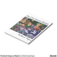 Portland Oregon @ Night Note Pad