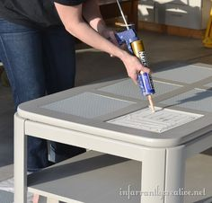 Lego table  Wish I would have thought of this for  my kids!!