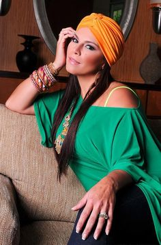 Olga Tañon, I love to see her dressed  like this..