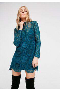 Womens IBIZA LACE DRESS - Bohemian Summer Fashion Trend 2017