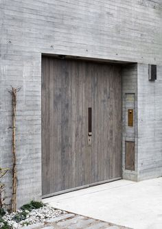 6a architects design an exquisite raw concrete... - Thisispaper