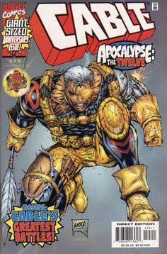 Cable vol 1 #75 | Cover art by Rob Liefeld & Ian Churchill