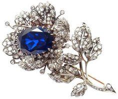 1.85cts ROSE CUT DIAMOND EMERALD ANTIQUE VICTORIAN LOOK 925 SILVER BROOCH PIN