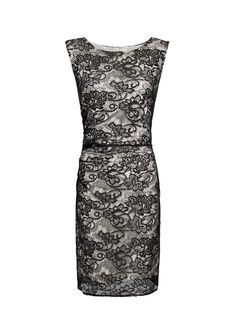 MANGO - CLOTHING - Dresses - Fitted lace dress
