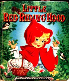 ''LITTLE RED RIDING HOOD'', Whitman 1957, illustrated by Zillah Lesko