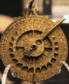 Astrolabe. The first portable ephemera and computer