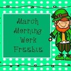March+Morning+Work+Freebie!  Includes: Dr.+Seuss+Color+By+Sight+Word Lion+and+Lamb+Trace+and+Color Leprechaun+Color+By+Sum Rainbow+Color+By+Color+W...
