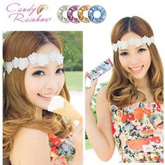 Candy Rainbow contact lens