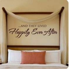 Above the master bed..i want this Wallwritten.com