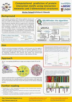 Edwards Lab: #ABiC14 Poster 46: Computational prediction of protein interaction motifs from integrated protein sequence, structure and interaction data
