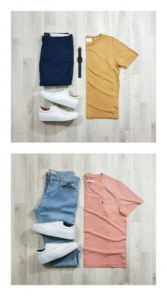 Mens Casual Dress Outfits, Mens Fashion Casual Wear, Big Men Fashion, Summer Outfits Men, Stylish Mens Outfits, Fashion Outfits, Casual Attire, Work Fashion, Simple Outfits