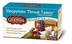 Celestial Seasonings Sleepytime Throat Tamer Tea, 20 Count by Celestial Seasonings * Click image to review more details. (This is an affiliate link) #Herbal