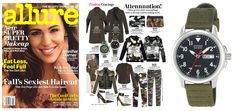 @Stacy Magazine features our military strap in their September issue!