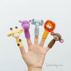 Tried this Pin? Knitted Dolls, Crochet Dolls, Crochet Baby, Knit Crochet, Amigurumi Patterns, Crochet Patterns, Crochet Phone Cover, Octopus Crochet Pattern, Finger Puppet Patterns