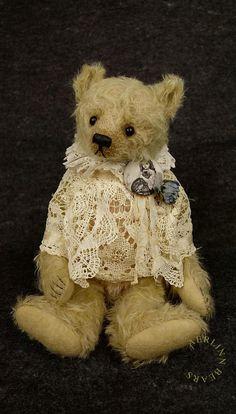 Shabby Billie, One Of a Kind Mohair Artist Teddy Bear from Aerlinn Bears