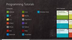 Programming Tutorials // is a collection of selected screencasts. Application developers will find information on exciting topics in more than 1,500 videos. Including: Android, C#, HTML5, Java, JavaScript, Python, Ruby, Windows Phone and many more.