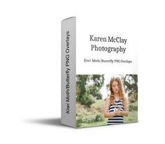 Karen McClay Photography  Kiwi Moth/Butterfly by KarenMcClayNZ
