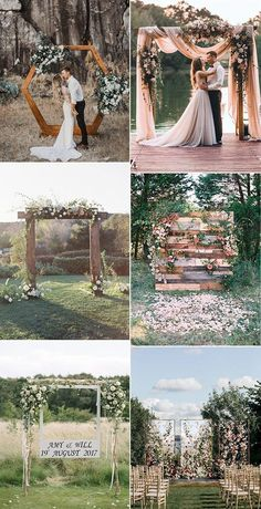 outdoor wedding arches and backdrops Get more photo about subject related with by looking at photos gallery at th. # Outdoor Weddings stage outdoor wedding arches and backdrops Outdoor Wedding Reception, Outdoor Wedding Decorations, Wedding Themes, Wedding Colors, Wedding Events, Wedding Ceremony, Wedding Hacks, Ceremony Decorations, Rustic Wedding Arches