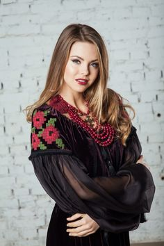 #Ukrainian #dress #ethnofashion #vyshyvanka