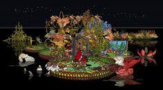 Bu Hua nasce in una famiglia di pittori a Pechino. Fin da bambina suo padre la educa ad un esercizio quotidiano alla pittura che le apre le porte di una carriera straordinariamente precoce. A soli 12 ha la sua prima piccola mostra personale all' Hong Kong Arts Center e a 16 disegna delle cartoline perContinue Reading