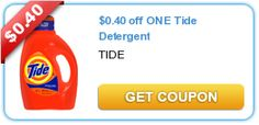 Tide Coupon And CVS Scenero!!  Tide or Gain liquid sale going on now thru June 15,2013 at CVS,Sale price=$5.94-w/card.**PLUS**Get $1.00 ecb reward for next purchase!!  Limit one per household.  Print and use the $0.40 off one Tide Detergent coupon  Final price=$5.54-$1.00 ecb=$4.54 http://domesticdivascoupons.com/tide-coupon-and-cvs-scenero/