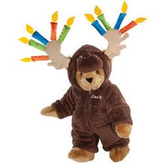 Moose Be Your Birthday! Teddy Bear
