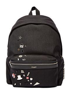 Explore men's bags Saint Laurent Hunter Backpack in black. Find more at LN-CC. Shop Now, Saint Laurent, Menswear, Backpacks, Purses, Luxury, Bags, Shopping, Design