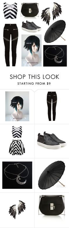 """""""Untitled #144"""" by awkward-goth ❤ liked on Polyvore featuring Givenchy, Marc Jacobs, Cultural Intrigue, Juliet & Company and Chloé"""