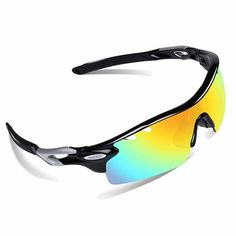 f9b6b09fb7 Top 10 Best Sport Sunglasses in 2019 - Best For Driving Sport Activity.  OBERLY Polarized Sunglasses with 4 Interchangeable Lenses for Men Women