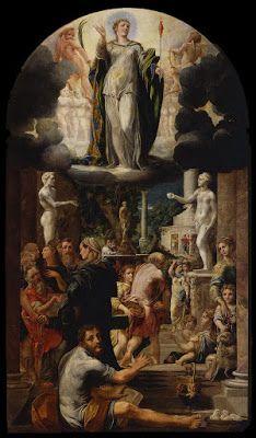 G. Mazzola Bedoli, Pala dell'Immacolata. Galleria Nazionale, Parma.