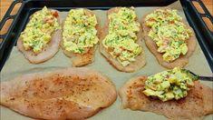 Chicken Fillet Recipes, Healthy Chicken Recipes, Quick Recipes, Meat Recipes, Cooking Recipes, Oven Chicken, Baked Chicken, Baked Bbq Ribs, Good Food