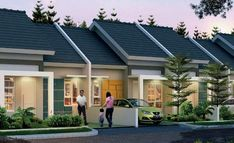Modern Townhouse, Townhouse Designs, Kerala House Design, Small House Design, Residential Building Design, One Bedroom House, One Storey House, Duplex House Plans, Kerala Houses