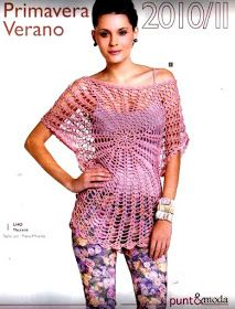 Crochet Top + Free Pattern + Diagrams