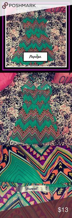 😍 GORGEOUS PAPAYA SUMMER DRESS • SMALL 🌈 EUC! PAPAYA DRESS • SMALL  🌈 Papaya Dresses
