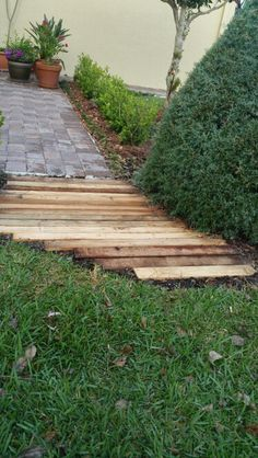 21 Best Outdoor Wood Pavers images in 2013 | Garden paths