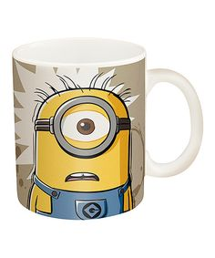 Look at this 'I Need Coffee' Minions Mug on #zulily today!