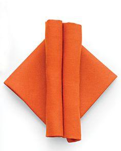 modern napkin fold