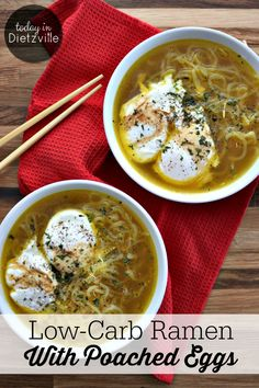 No processed pasta or MSG-filled spice packets in this low-carb ramen! Healing bone broth, turmeric, eggs, and low-carb noodles transform the old Ramen!