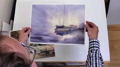 How to Flatten Watercolor Paintings http://www.youtube.com/watch/?v=k3D5evJYtmA