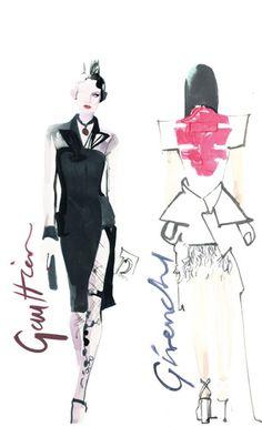 David Downton - Fashion Illustration - Latest News 2011