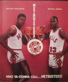 Orlando Woolridge and MJ